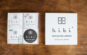 hibi 10MINUTES AROMA 3種のギフトボックス