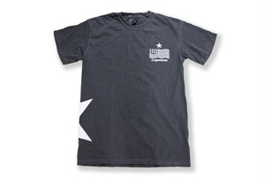 【vintage STAR logo T-shirt】/ black