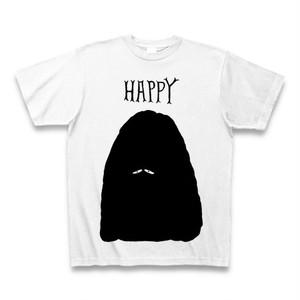 HAPPY シルエットTシャツ