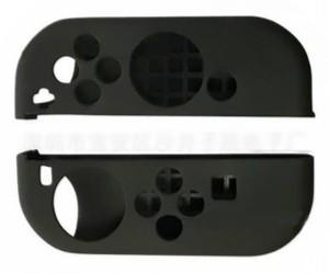 ブラック 任天堂 switch スイッチ Joy-Con ジョイコン ハンドル カバー 2個セット zaab039