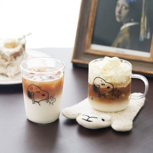 drawing snoopy glass mag cup 2style / スヌーピー コップ