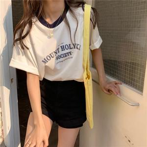 ルーズロゴTシャツ D2252