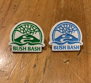 BUSHBASH LOGO enamel pin