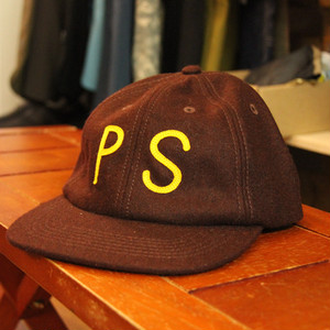 【最終セール40%OFF】POLeR WOOL PS CAP / BROWN