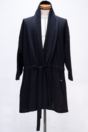 Wool Drop Shoulder Cardigan