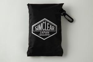 SIMCLEAR 防水/反射 リュックカバー(防水ポーチ付き)Lサイズ