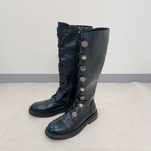 rétro long boots