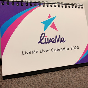 LiveMe卓上カレンダー2020
