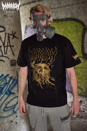 DavidJorquera×MarrionApparel Tee (Black×Gold)
