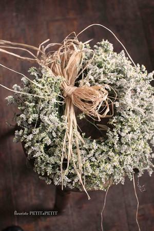 statice wreath(スターチスリース)