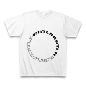 Zel 「RRLTR」circle T-Shirt WHITE 【TS-001】 白 半袖