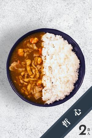 【2食入り】スパイシーカレー TERIYAKI produced by  そばや哲心(2パック入り)※冷凍食品