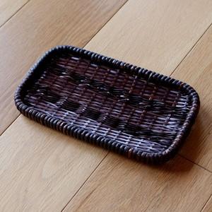 竹製長角皿/二代 岩尾豊南作