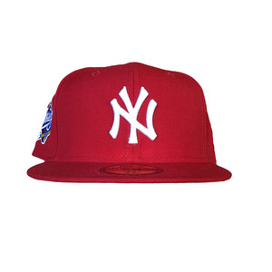 NEW ERA New York Yankees 1998 World Series 59Fifty Fitted / Red×White