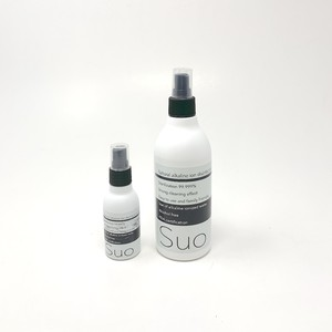 SUO  植物性アルカリイオン除菌スプレー_300ml×1本+60ml×1本セット