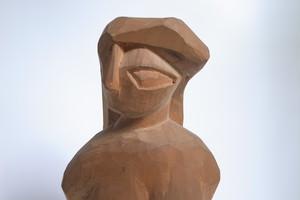 木彫 女性