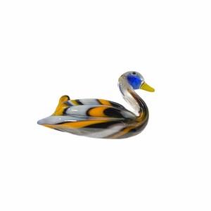 SA381 鳥置物ガラス