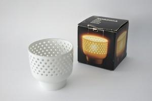 vintage ARABIA NORDICA lantern with box  /  ヴィンテージ アラビア ノルディカ キャンドルホルダー 箱付き