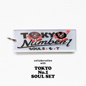 見守りタグ  biblle(ビブル)×   TOKYO No.1 SOUL SET/white