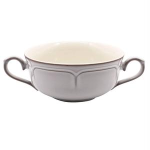 Koyo ラフィネ 両手 スープカップ 約17×12cm スモークホワイト 15910054