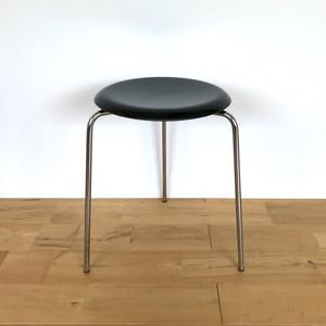 Fritz Hansen(フリッツ・ハンセン) ドットスツール 3170 Arne Jacobsen(アルネ・ヤコブセン) ブラック ビンテージ 1970年 3