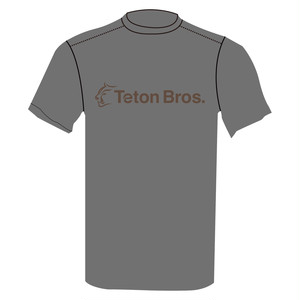 TetonBros.(ティートンブロス) Men's Standard Logo T Gray