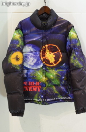 SUPREME × UNDERCOVER × Public Enemy Puffy Jacket
