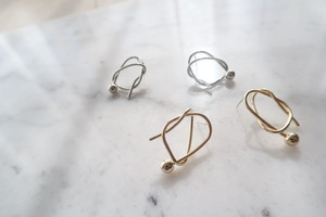 wire pierce  【gold/silver】