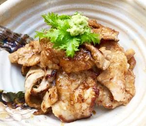 塩糀黒豚丼