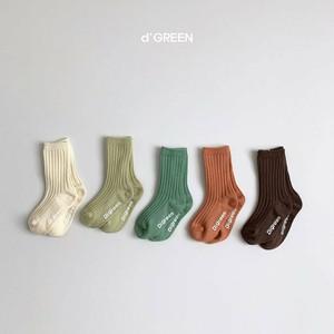 d'GREEN / ピスタチオ靴下セット
