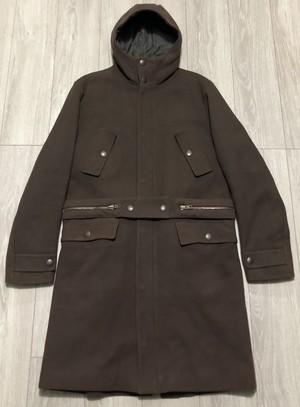 AW1999 MIUMIU HOODED COAT
