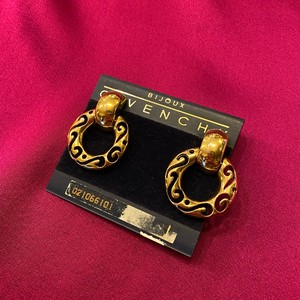 GIVENCHY Hoop Earclip -Gold Color-