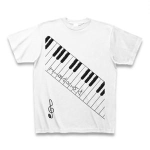 鍵盤Tシャツ(ホワイト)