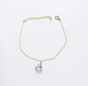 14kgf aquamarine bracelet
