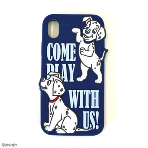 DISNEY/SILICONE iPhone XRケース YY-D058 NV