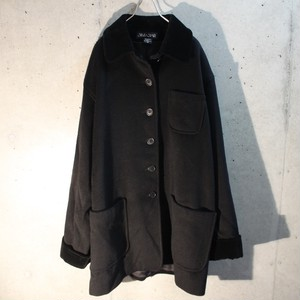 Velor Wool Cashmere Cover All Type Jacket