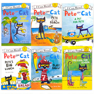 「Pete the cat」I can read Aセット(6冊)
