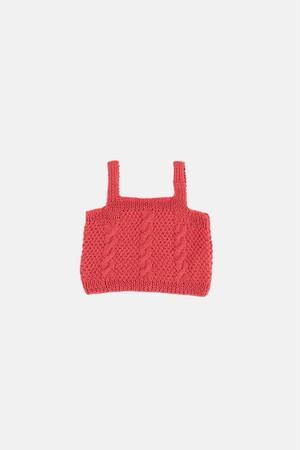 【KOKORI】Sienna blouse peach SS21063