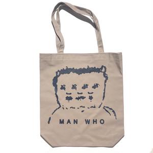 MAN WHO TOTE (グレー)