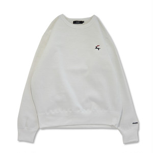 DET Crewneck Sweat (White)