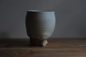 木村年克・オリジナル植木鉢L/やしの実