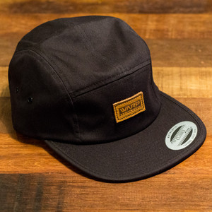 Logo Leather patch 5 Panel Cap