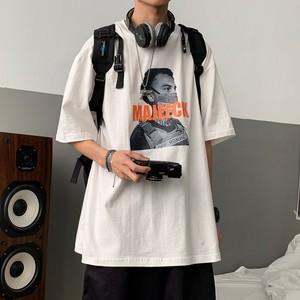 ユニークプリントTシャツ BL6433