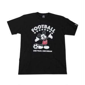 Mickey Mouse コラボ Tシャツ gramo「ONE DREAM」(ブラック/T-022) ※S~Lサイズ