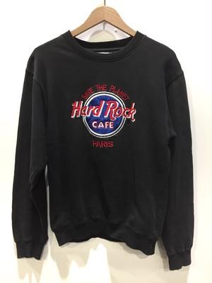 Hard Rock CAFE ハードロックカフェ プルオーバー スウェット Sサイズ ダークグレー