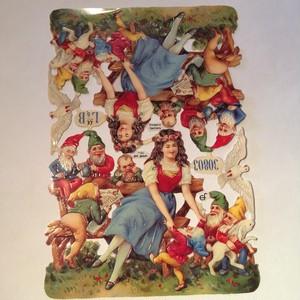 ドイツ クロモス 白雪姫と七人の小人