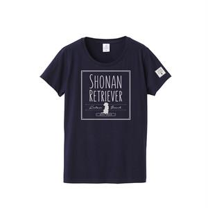 SR-016-NV:スタンダードTシャツ 4.7oz (スクエアロゴ)(ネイビー)