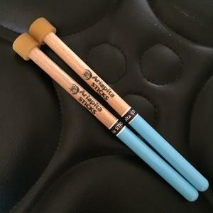 【Rubber grip / Aqua blue】Double second - ダブルセカンドマレット