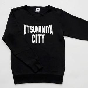 スウェット UTSUNOMIYA CITY ブラック