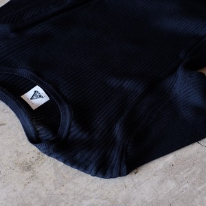 yuumiARIA / RIB TOPS[Navy Black]